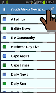 South Africa Newspapers- screenshot thumbnail
