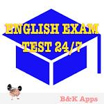 English exam test 247 Icon