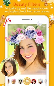 YouCam Fun Live Selfie Filters screenshot 1