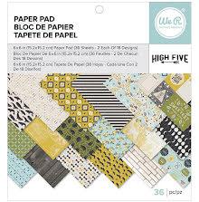 We R Memory Keepers Paper Pad 6X6 36/Pkg - High Five UTGÅENDE