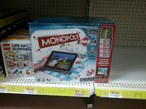Photo: I found Monopoly zAPPed but I could not find The Game Of Life zAPPED. We will have to keep looking for it in the next couple of months because my kids really want it!