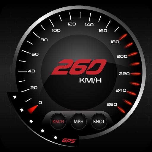 GPS Speedometer-Odometer DigitalMeter : HudView (app)