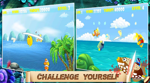 Ninja Fish - Fish Cut 1.0.2 screenshots 4