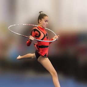 Artistic gymnastics B by Trevor Bond - Sports & Fitness Other Sports ( sport, nz, aims gaimes, gymnastics,  )