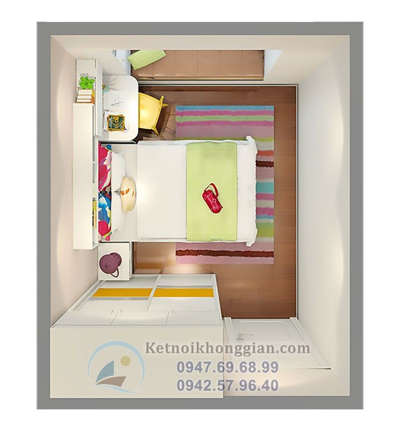 thiết kế nội thất chung cư lịch lãm