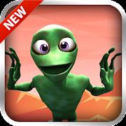 Green Alien Dance: Rhythm