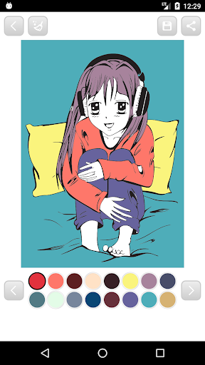 Download Anime Manga Coloring Book On PC Mac With AppKiwi APK Downloader