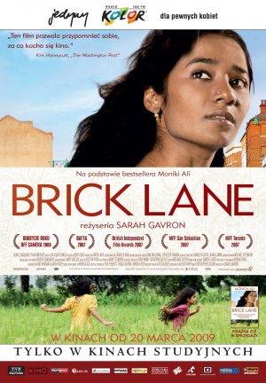 Polski plakat filmu 'Brick Lane'