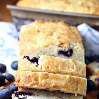 Blueberry Oat Bread.
