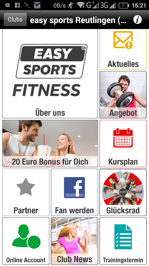 easy sports Freizeitanlagen- screenshot