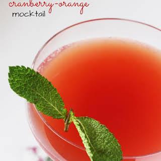 Cranberry Mocktail Recipes.
