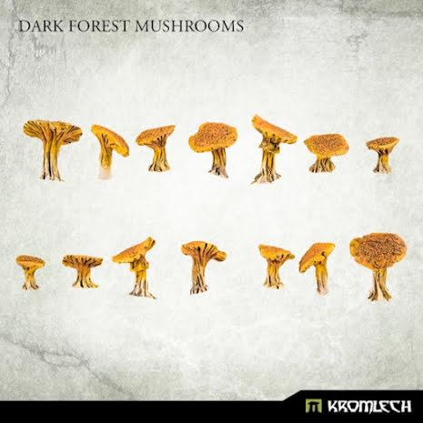 Dark Forest Mushrooms