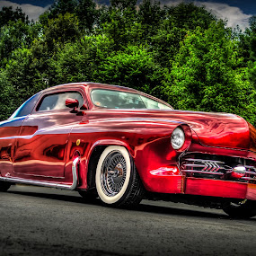 Candy Apple Red Beauty by RomanDA Photography - Transportation Automobiles ( car, red, hdr, candy, apple, automobile, automotive, photography, bike, exotic,  )