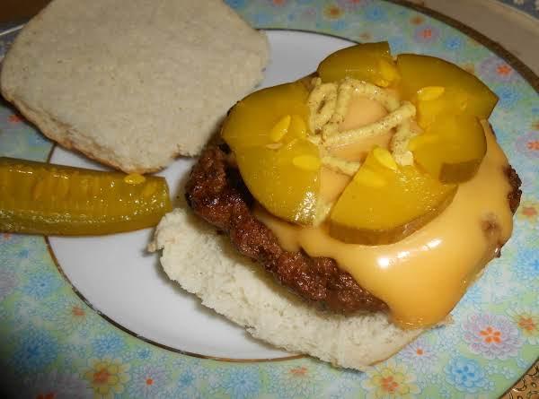 Michael's Special Burgers Recipe