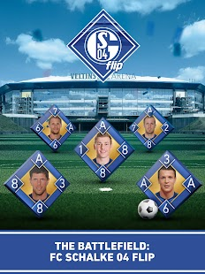 Schalke 04 Flip: official game- screenshot thumbnail
