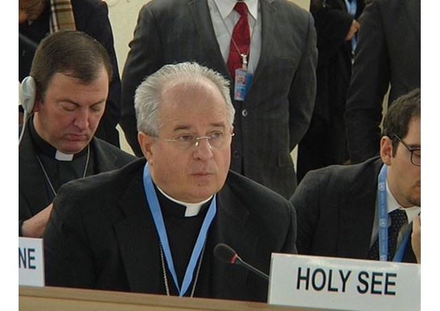 Archbishop Ivan Jurkovič, Permanent Observer of the Holy See to the UN in Geneva - RV