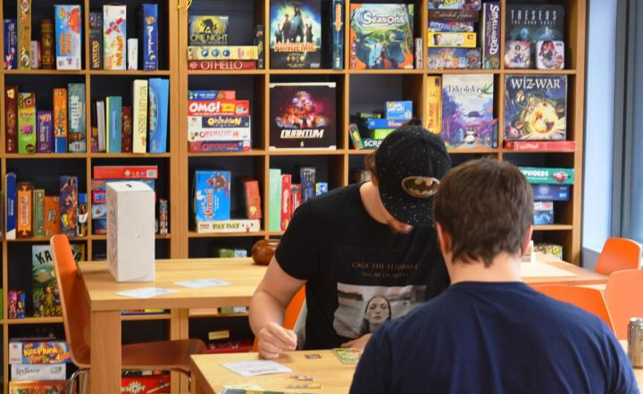 Gamers get some face to face interaction at Sugar and Dice.