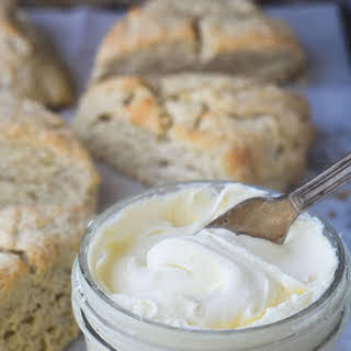 Homemade Clotted Cream.