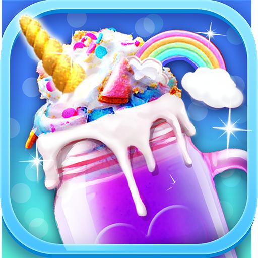Rainbow Unicorn Foods & Desserts: Cooking Games