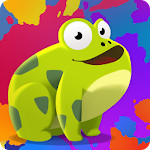 Paint the Frog Icon