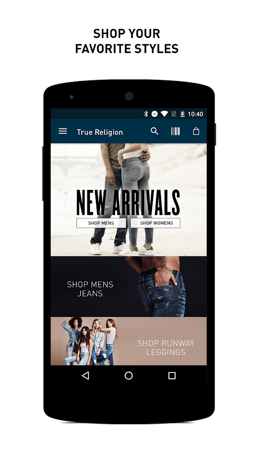 True Religion Brand Jeans- screenshot