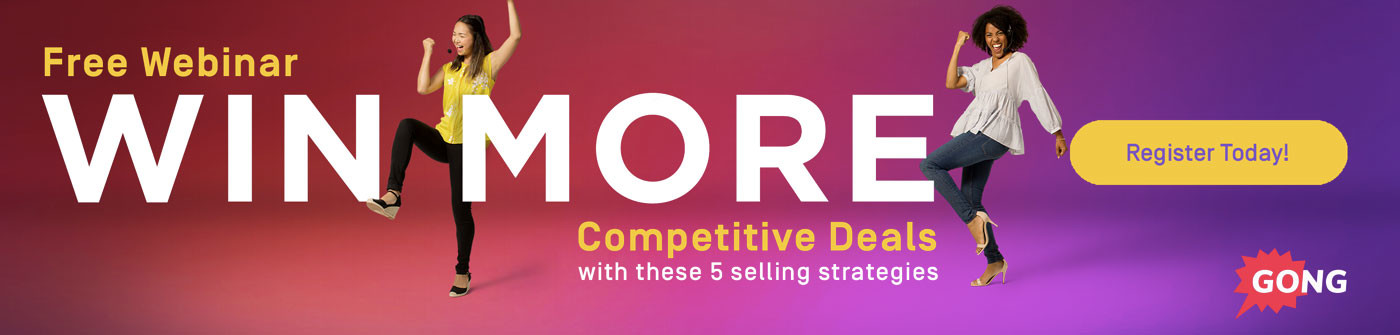 Sales training webinar on competitive selling