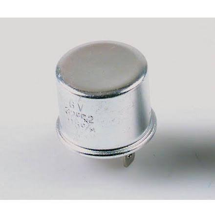 blinkersrelä 3 poligt, 6V 17W aluminium