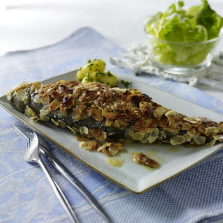 Almond-Crusted Trout