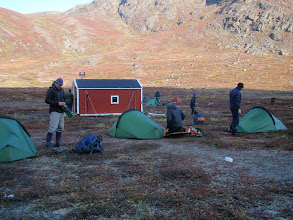Photo: Greenland - Hut at the end of Day 6