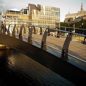 Boardwalk, Quebec City by Sandeep Kochar - Buildings & Architecture Bridges & Suspended Structures