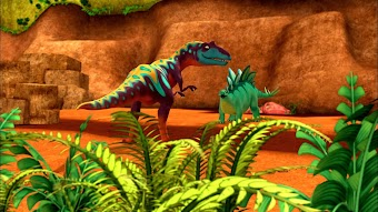 The Old Spinosaurus and the Sea/A Spiky Tail Tale