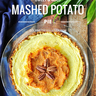 Sweet & Gold Mashed Potato Pie