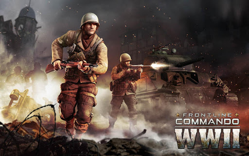 FRONTLINE COMMANDO: WW2  gameplay | by HackJr.Pw 13