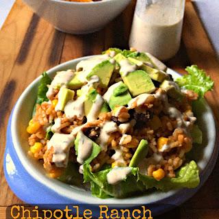 Chipotle Ranch Chicken Burrito Bowl