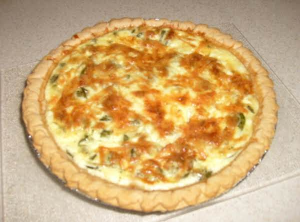 Fiddlehead Quiche