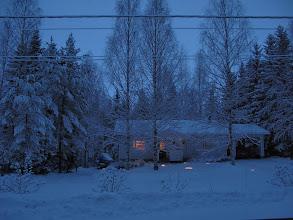 Photo: Sininen hämärä 30.12.2009.. 15 min myöhemmin...