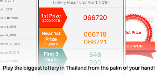 Thai National Lottery - Apps on Google Play