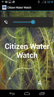 Citizen Water Watch- screenshot thumbnail