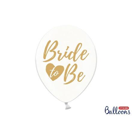Ballonger Bride to be, guld