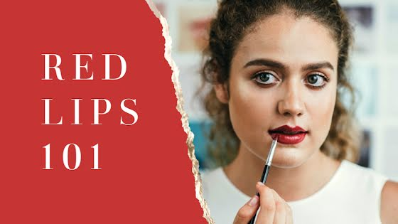Red Lips 101 - YouTube Thumbnail Template