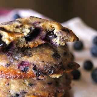 Glazed Blueberry Chocolate Chunk Cookie