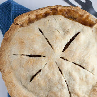 Rustic Old-Fashioned Apple Pie.