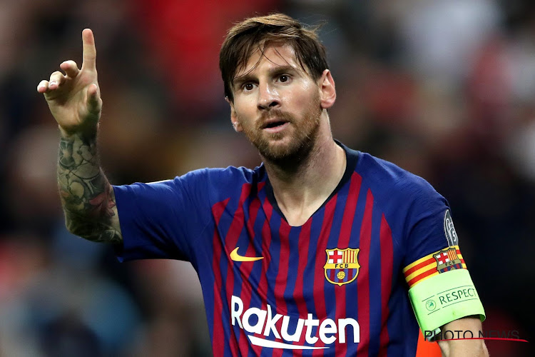 Lionel Messi évoque son avenir