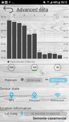 Barometer pro - free screenshot 2