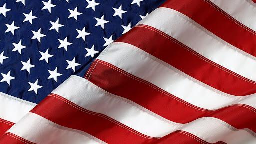 American flag. Live wallpaper