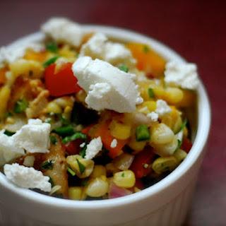 Corn Capsicum Salad Recipes