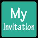 My Invitation icon