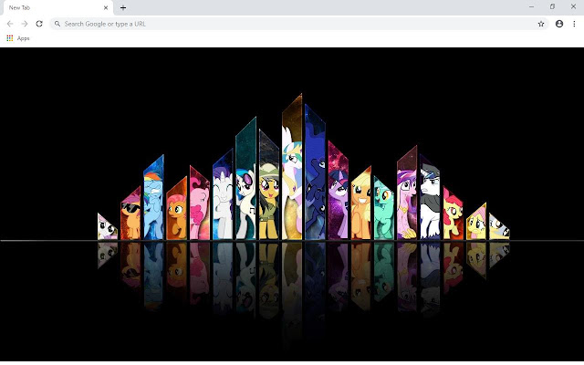 Pony Wallpapers and New Tab