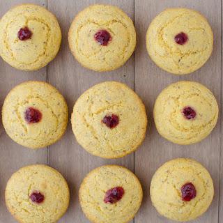 Vegan Cranberry Corn Muffins