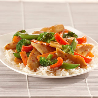 Chicken and Vegetable Stir-Fry.
